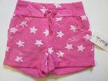 Short-Meisjes-Sterren-Pink-maat-122-128