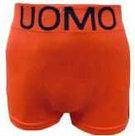 Naadloze-Boxers-Heren-Oranje-maat-XL-XXL