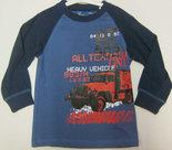 Shirt-Jongens-Vrachtwagen-Blauw-maat-98