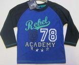 Shirt-Jongens-Blauw-maat-92