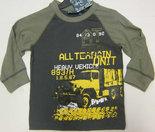 Shirt-Vrachtwagen-Groen-maat-98