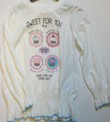 Shirt-Meisjes-Wit-maat-98