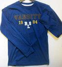 Shirt-Blue-Seven-Jongens-Blauw-maat-140