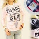 Sweater-Wild-Hearts-Grijs-maat-164