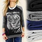Sweater-Wild-Grijs-maat-158-164