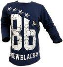 Shirt-Jongens-86-Blauw-maat-98-104