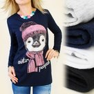 Shirt-Dames-Penguin-Zwart-maat-S