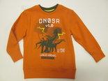 Blue-Seven-Sweater-Dinosaurus-Jongens-Oranje-maat-98