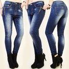 Jeans-H332-Dames-Denim-Blue