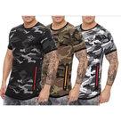 Tshirt-Army-Look-Heren-Bruin