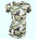 Tshirt-Army-Heren-Groen-maat-S