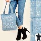 Shopper-Tas-Ster-Denim-Blue