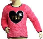 Sweater-YES-met-pailetten-maat-122-128