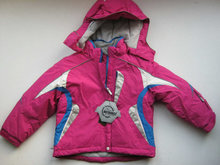 Ski Jas / Winterjas  Pink/Blauw, maat 104